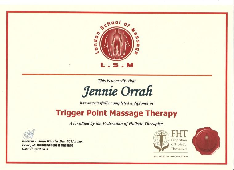 Trigger Point Diploma 050414